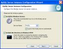 mysql5050 config 3 Instalar MySQL en Windows