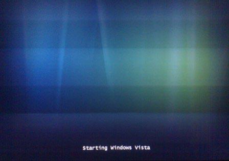 Arranque Windows Vista Aurora
