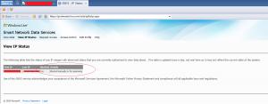 IP Bloqueada en Hotmail